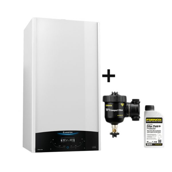 Centrala termica Ariston Genus One 30 + Filtru Fernox TF1 Compact